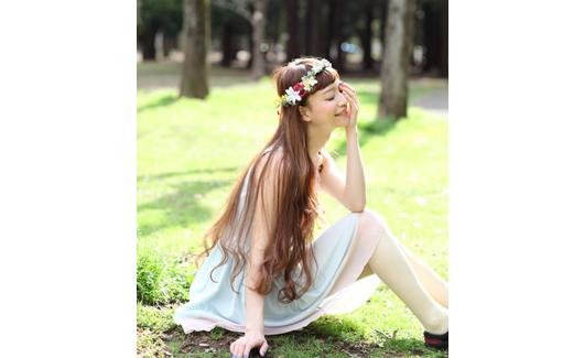 CHACO<br />お花のヘッドアクセサリー、耳飾りなど