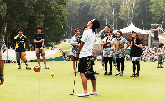 水上温泉旅館協同組合青年部<br />チャレンジ!パターゴルフ