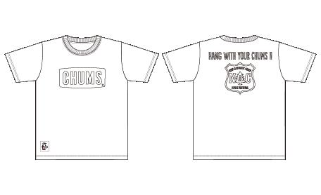 CHUMS × NAC<br />コラボ塗り絵T-Shirts